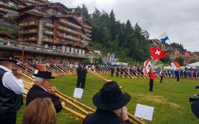 Alphornfestival in Nendaz, Wallis